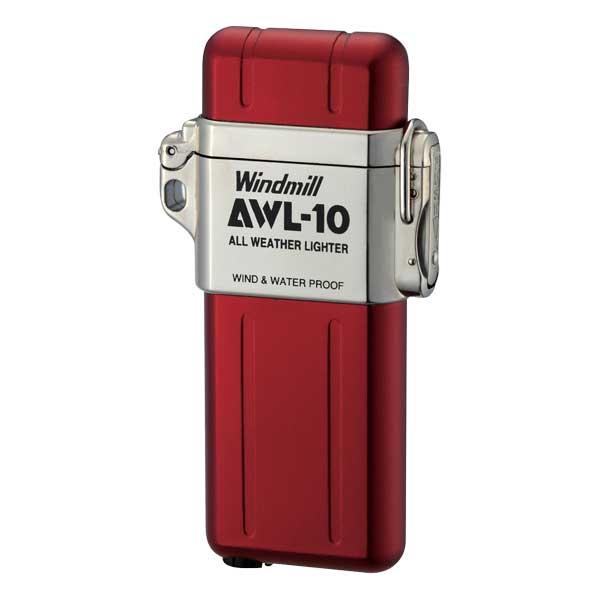 Windmill(ウィンドミル)ライター AWL-10 レッド(RED) 307-1001 適合リフィル(ガス or オイル)1本無料進呈