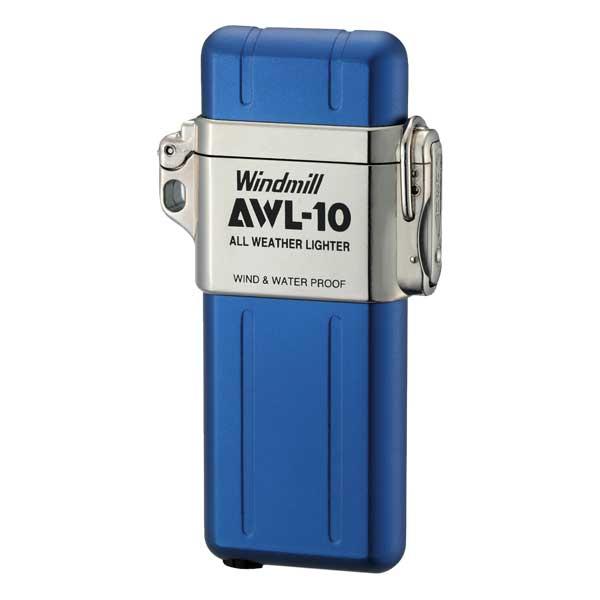 Windmill(ウィンドミル)ライター AWL-10 コバルト(COBALT) 307-1002 適合リフィル(ガス or オイル)1本無料進呈