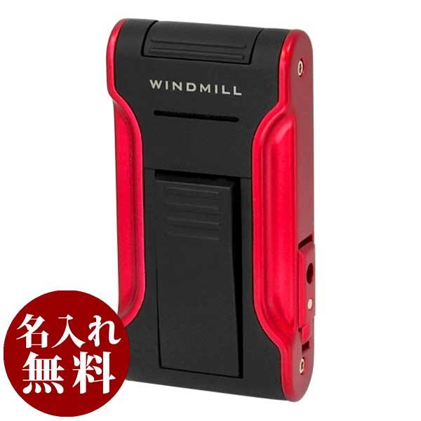 Windmill(ウィンドミル)ライター カタナ KATANA2 フラットフレーム FLAT FLAME ブラック レッド BLACK RED W11-0003 適合リフィル(ガス or オイル)1本無料進呈