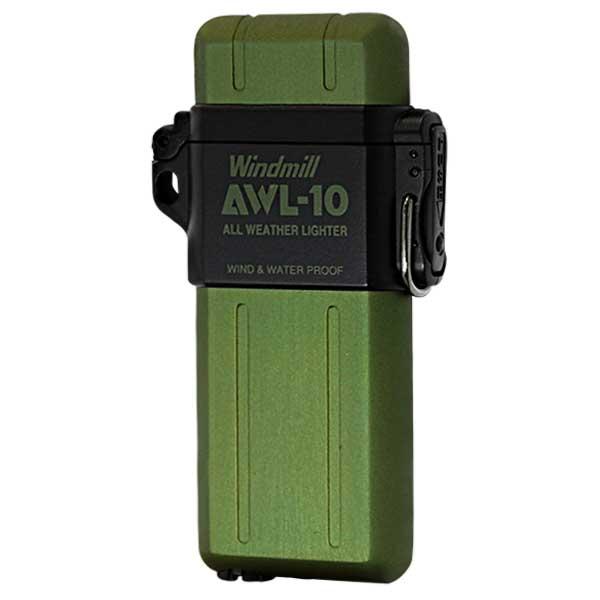 Windmill ウィンドミル AWL-10 グリーン GREEN 307-0045 適合リフィル(ガス or オイル)1本無料進呈