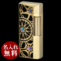 SAROME(サロメ)ライター|シャンパンゴールド0.2μ ブラックエポシキ ホイールデザイン SD41-15