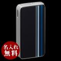 SAROME(サロメ)ライター|ブラック ブルーストライプ SK161-01