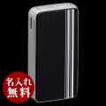 SAROME(サロメ)ライター|ブラック ホワイトストライプ SK161-03
