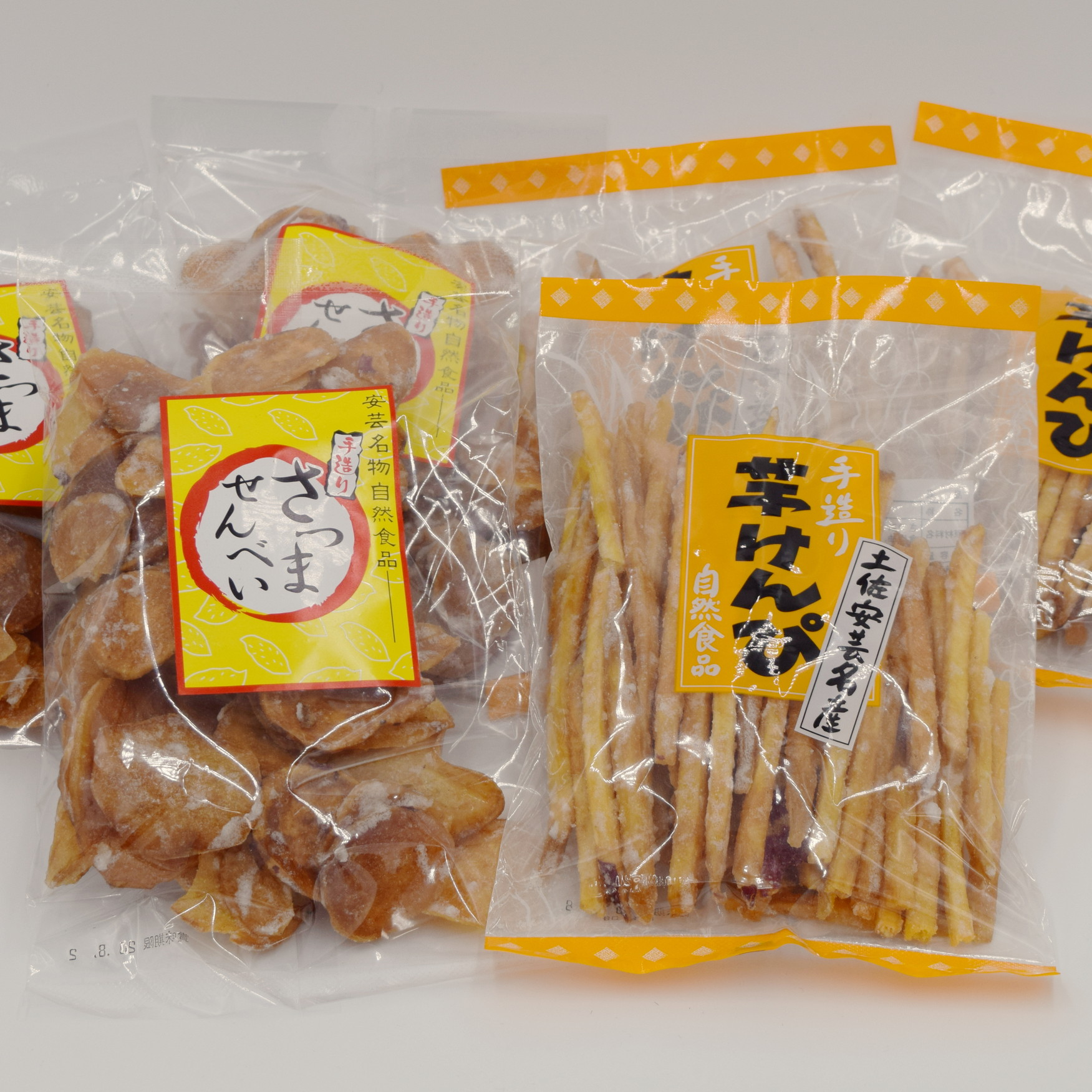 【寺尾製菓】芋けんぴ210g×3・さつませんべい200g×3