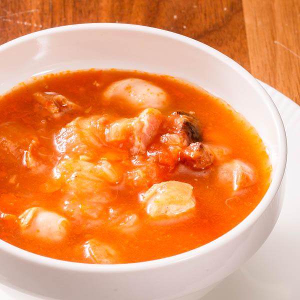 ハム屋さんの具沢山トマトスープ