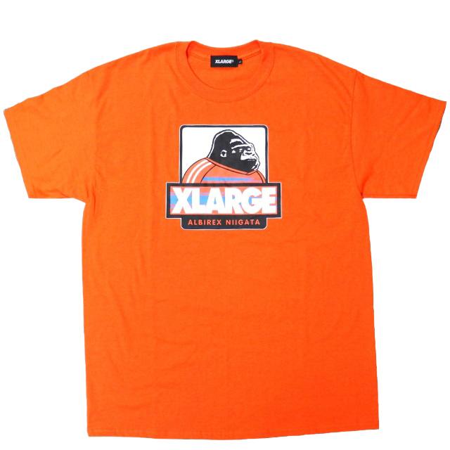 XLARGEコラボTシャツ(オレンジ)