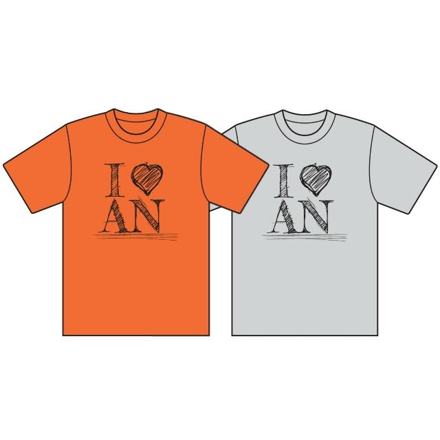 【激T】Tシャツ(I LOVE AN)