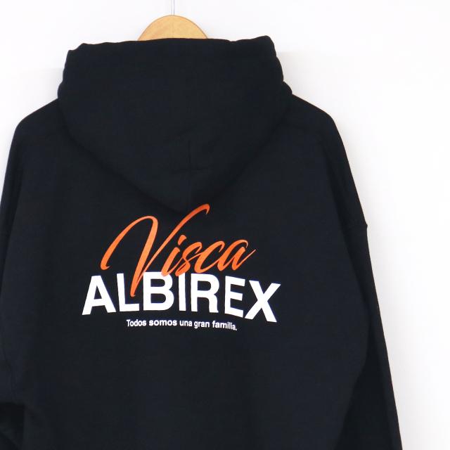 VISCA ALBIREX パーカー(グレー/ブラック)