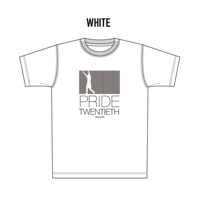 SHUKYU Magazine × TATSUYA 限定Tシャツ【PRIDE/WHITE】