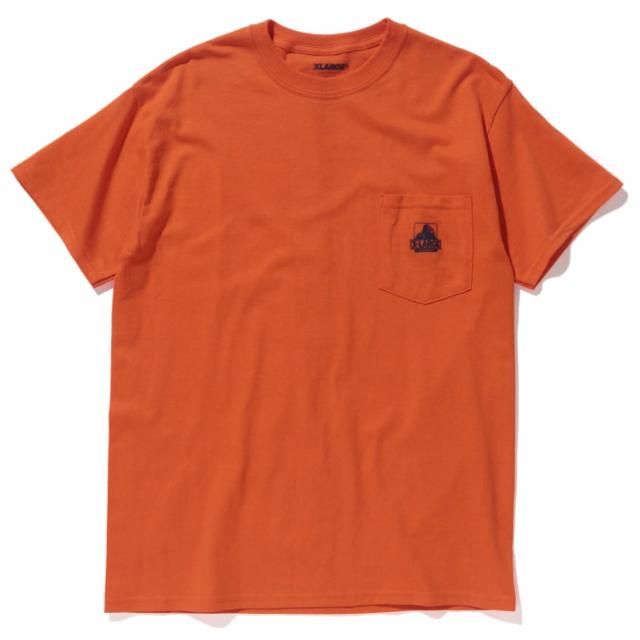 xlrageコラボポケットTシャツ(オレンジ)