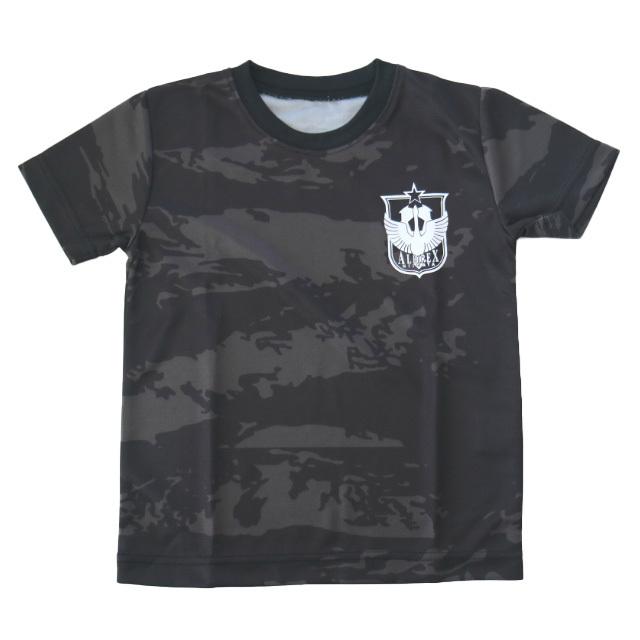 キッズTシャツ(ブラック)