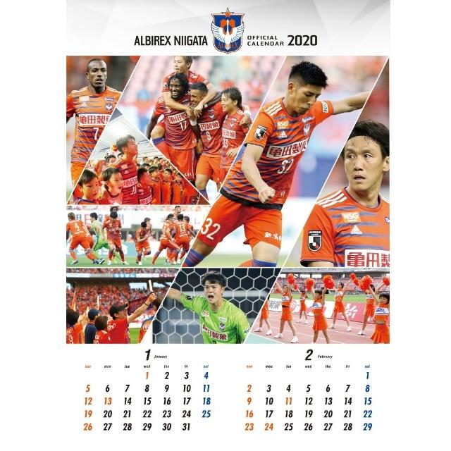 オフィシャルカレンダー2020(壁掛けタイプ)