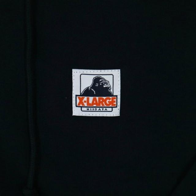 XLARGEコラボ ジップパーカー(ネイビー)