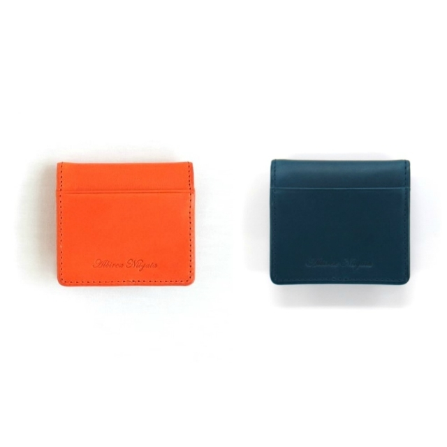 コインケース(オレンジ/ブルー)