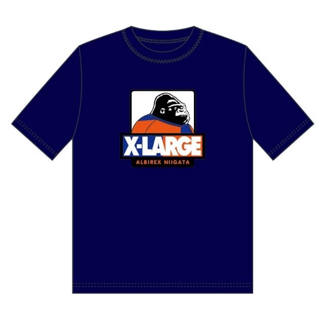 XLARGEコラボTシャツ(ネイビー)