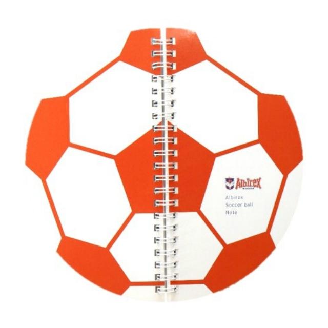 サッカーボールノート