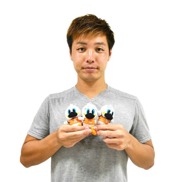 マスコットキーホルダー(アーくん/ルーちゃん/ビィくん)