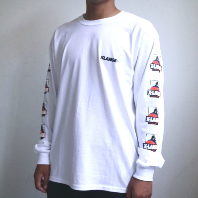 XLARGEコラボ ロングスリーブTシャツ
