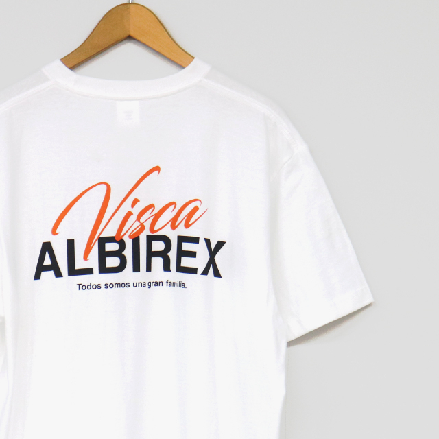 VISCA ALBIREX Tシャツ(ホワイト/ブラック)