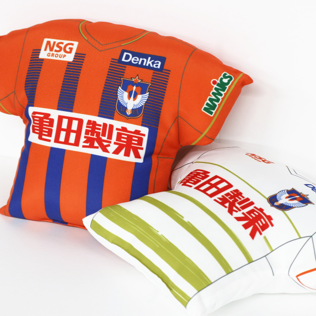【2021シーズン全選手対応】ユニフォーム型クッション(1st/2nd)