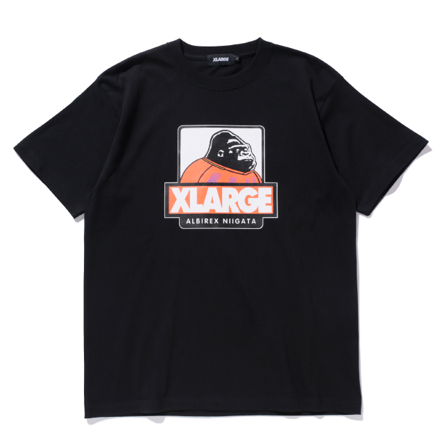 XLARGEコラボ Tシャツ(ブラック)