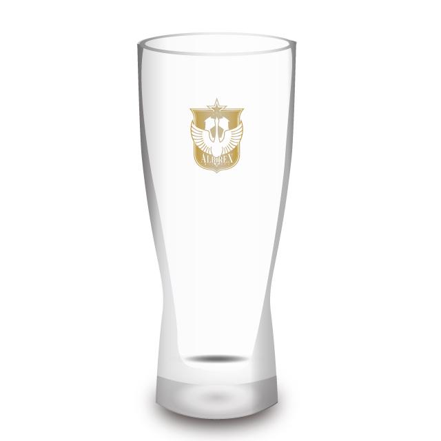 """アルビ""""乾杯""""ビアグラス"""