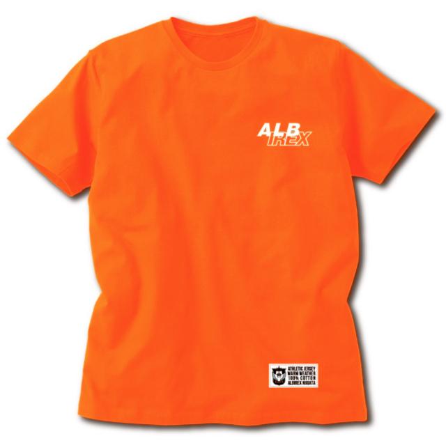 ニイガタサポーターTシャツ (ALB/オレンジ)