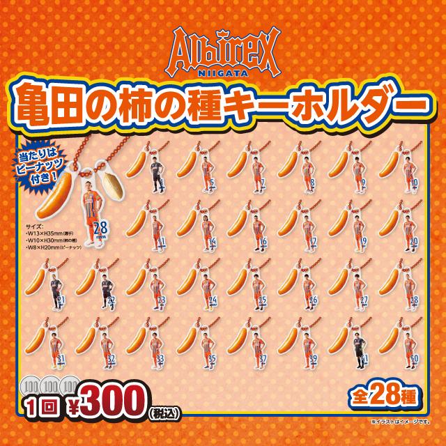 【ガチャガチャ】亀田の柿の種キーホルダー