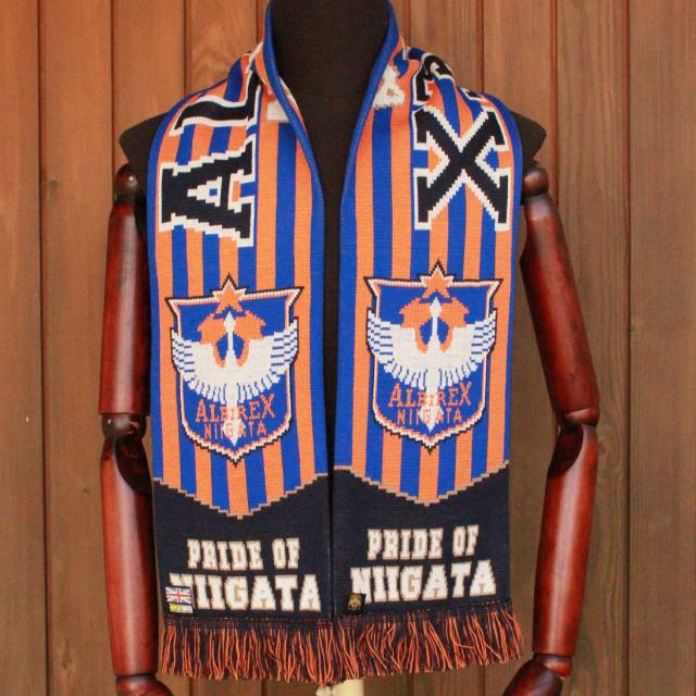 【英国製】ALBフットボールマフラー(PRIDE OF NIIGATA)