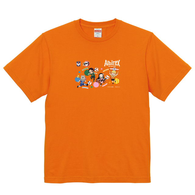 ALBIREX×鬼滅の刃 Tシャツ(110cm)