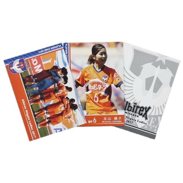アルビレックス新潟レディースプレイヤーズトレーディングカード第1弾