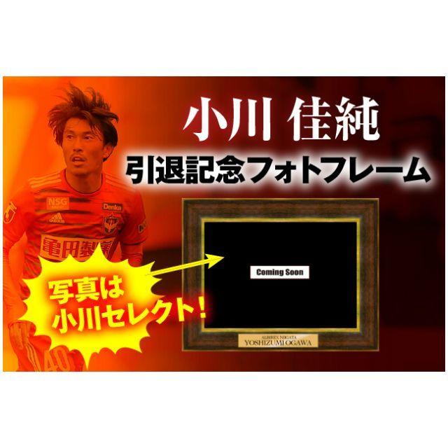 小川佳純選手引退記念 メモリアルフォトフレーム