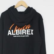 VISCA ALBIREX フルジップパーカー(ブラック)