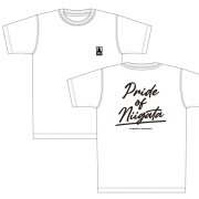 【VISCA】Pride of Niigata Tシャツ(ホワイト×ブラック)
