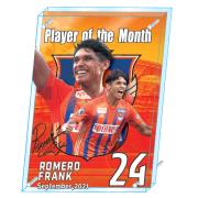 フォトスタンド【Player of the Month】ロメロフランク選手