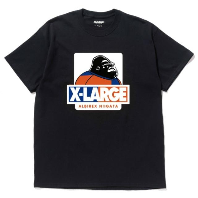 XLARGEコラボTシャツ(ブラック)