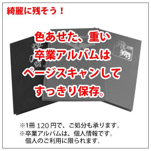 台紙アルバムもページスキャン1ページ~
