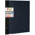 100年台紙 フリー替台紙 Lサイズ5枚セット ブラック(アH-LFR-5-D)|