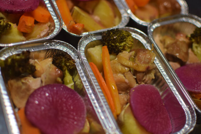 ★季節限定商品★香ばしいグリル野菜とチキンの盛り合わせ【冷凍】