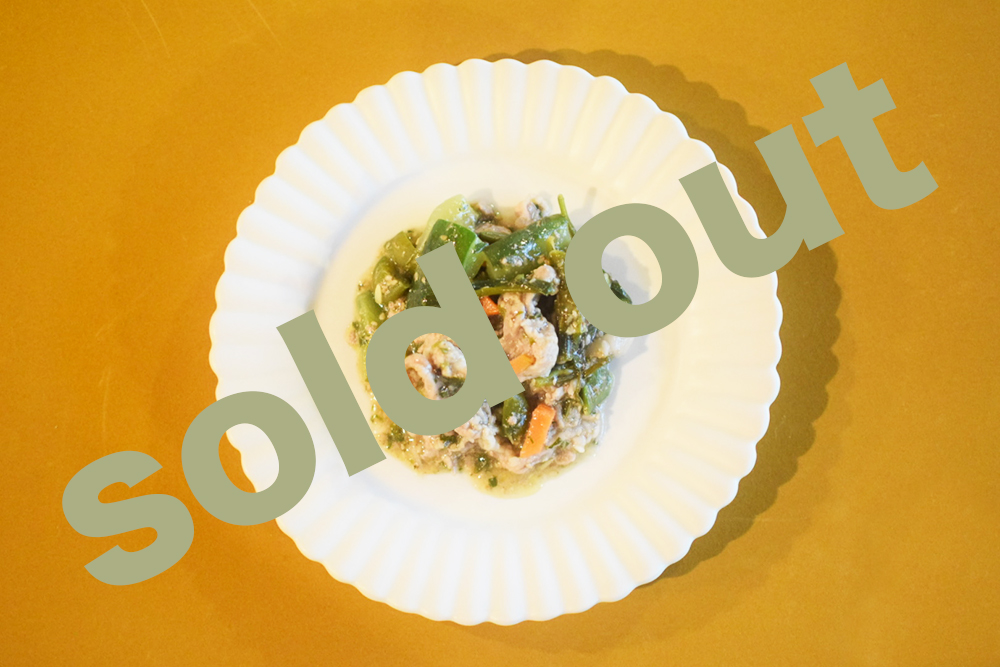 夏野菜と豚肉の回鍋肉_soldout