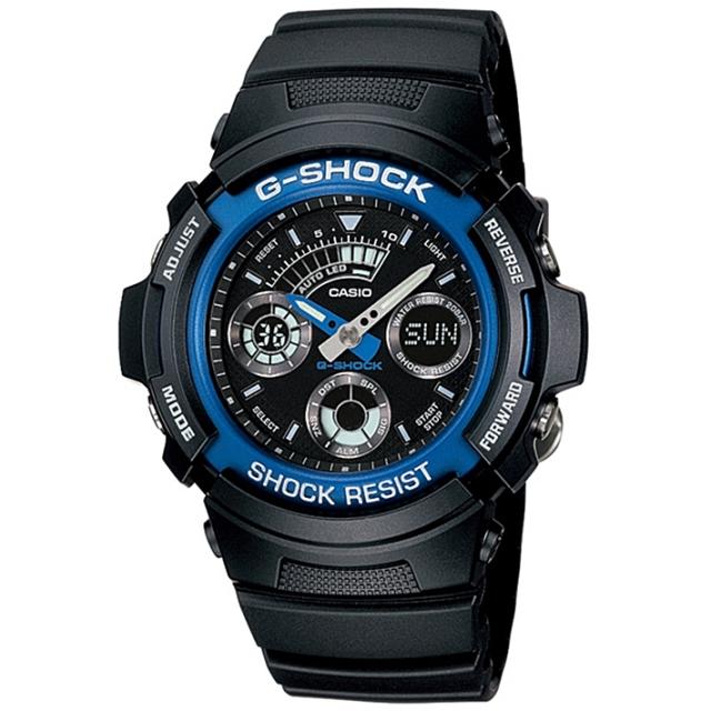 【父の日ギフト】 G-SHOOK 腕時計(AW-591-2AJF)