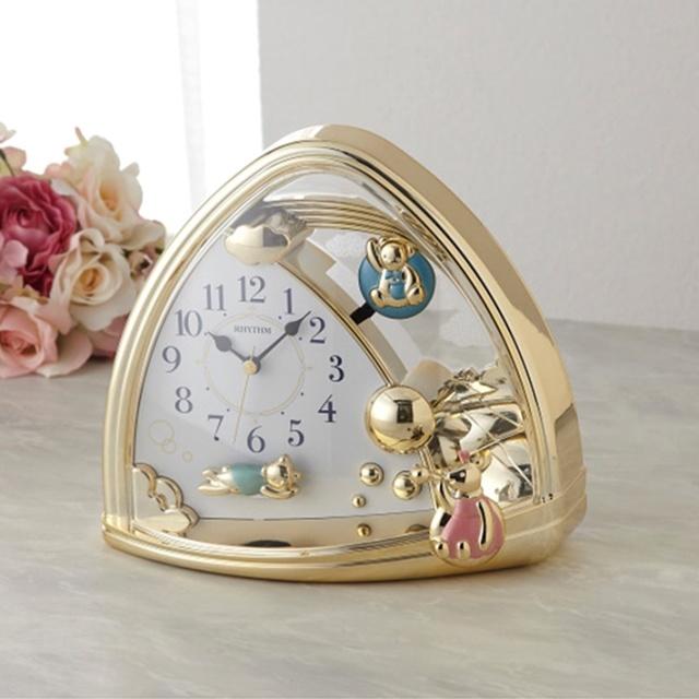 リズム 置時計