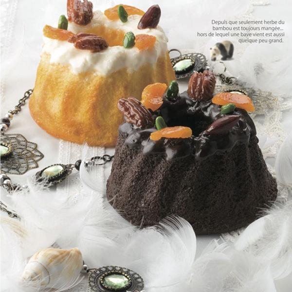 ブライダルスイーツ ショコラティエーム デュオ クグロフケーキ&クゴロフショコラ 引菓子