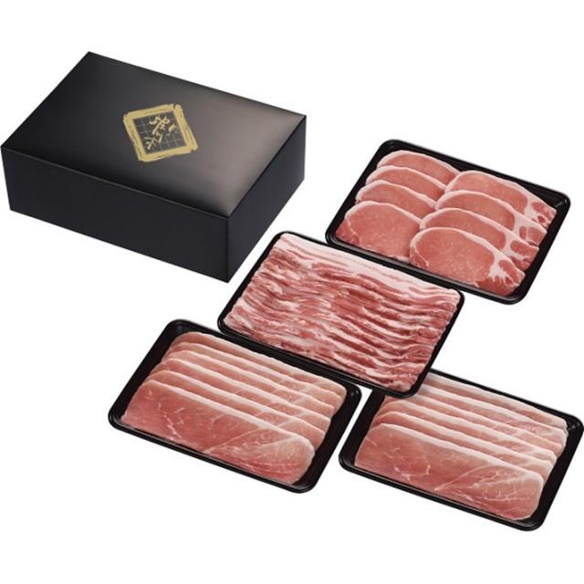 【送料込】 お歳暮ギフト 鹿児島県産恵みの黒豚 しゃぶしゃぶ用セット