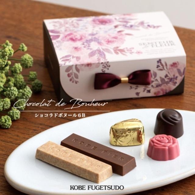 神戸スイーツ 神戸風月堂(F-3)ショコラドボヌール 6B  洋菓子 バレンタインチョコレート ホワイトデーお返し