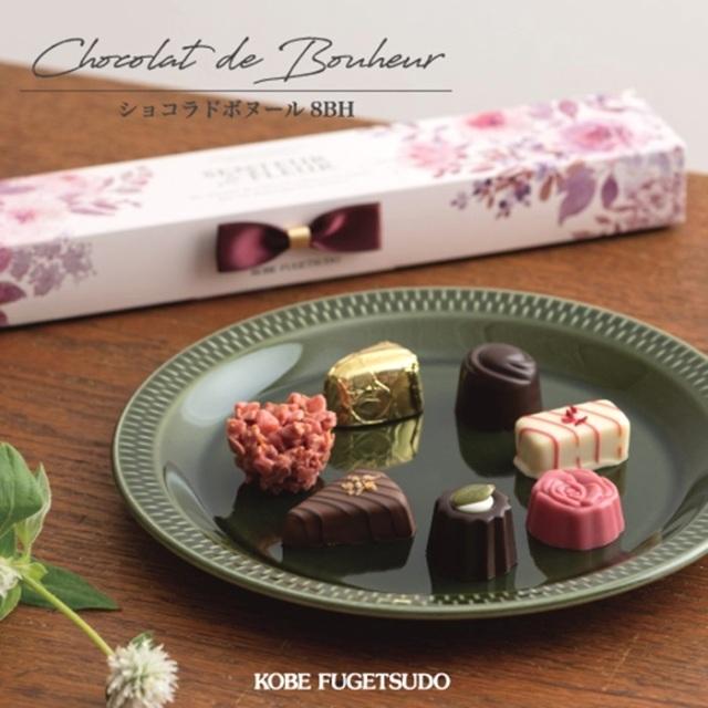 神戸スイーツ 神戸風月堂(F-4)ショコラドボヌール 8BH  洋菓子 バレンタインチョコレート ホワイトデーお返し