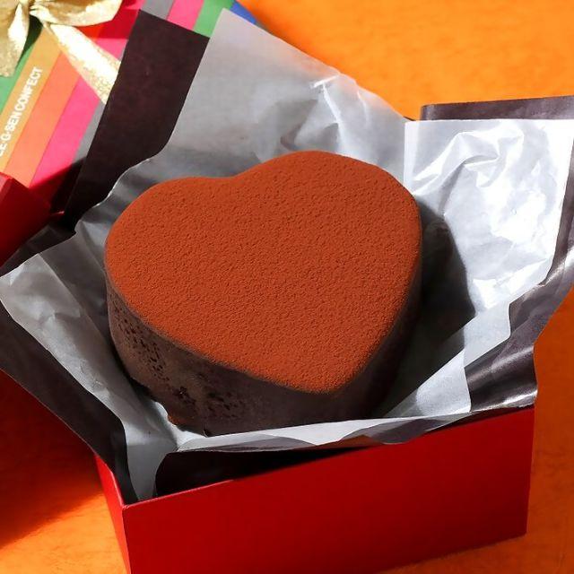 【2021バレンタインチョコ特集】G線 ハートチョコケーキ150g 《要冷蔵》