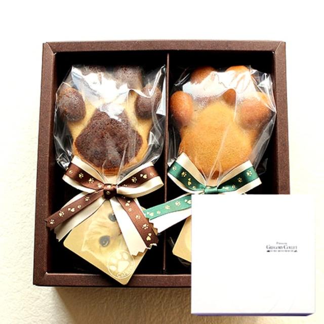 【バレンタインチョコ人気ブランド】 神戸スイーツ パティスリー グレゴリー・コレ キャッツポウ ギフトボックス2本入