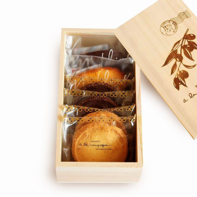 神戸スイーツ a la campagne (アラカンパーニュ) 焼き菓子詰合せ ガトー・アソルティ ・フィネス