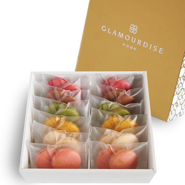 神戸スイーツ GLAMOURDISE(グラモウディーズ) マカロンクッキー12個セット